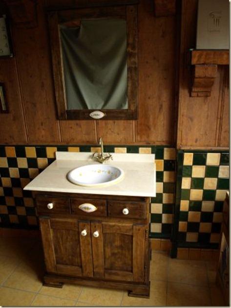 Baño Rustico Decoracion:muebles de baños rusticos