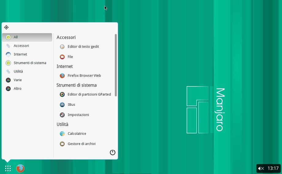 Budgie Desktop in Manjaro Linux