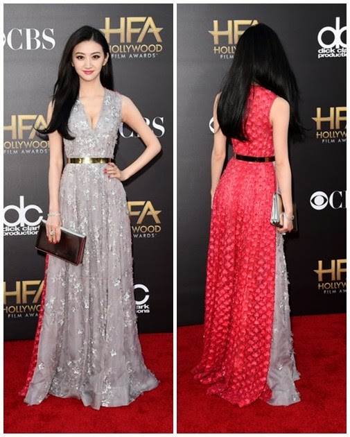 Jing Tian attends the 18th Annual Hollywood Film Award3