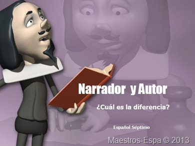 ppt-narrador-vs-autor-damaris-vega