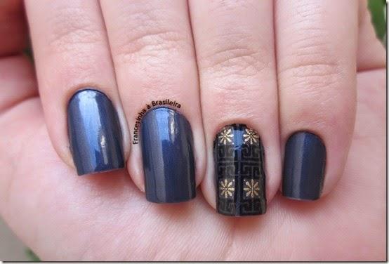 Novo azul (Risque) protector nail