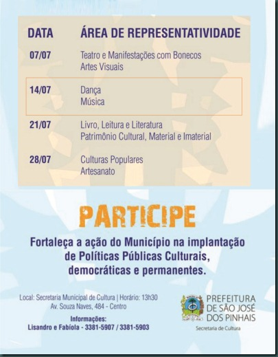 Forum setorial São José dos Pinhais -2
