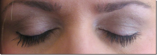 Rimmel English Breakfast on eyes