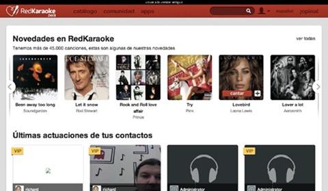 Novedades de Red Karaoke