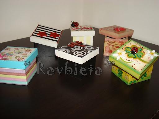 Related pictures cajitas decoradas para regalos bautizo - Cajas de madera pintadas a mano ...