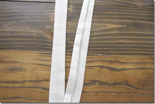 handmade bias tape