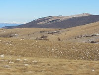 Pogled na Slavnik in Grmado