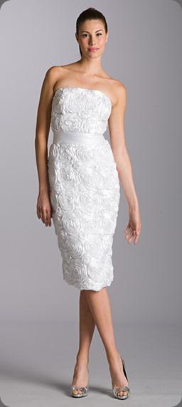 wedding dress B278KC_Satin_Rosette aria