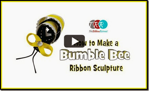 How-To-Make-A-Bumble-Bee-Ribbon-Sculpture