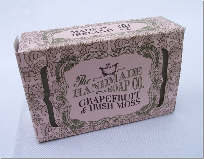 the handmade soap co grapefruit and irish moss soap