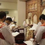 The Consercration of the Altar Of Saint Stephene the martyr By Bishop Serapion