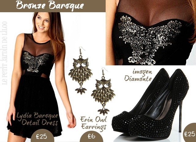 01-boohoo-party-pose-lydia-baroque-dress-imogen-diamonte-heels-shoes