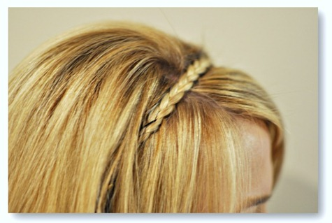 diy braided headband