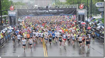 Rock n Roll Nashville Start Line