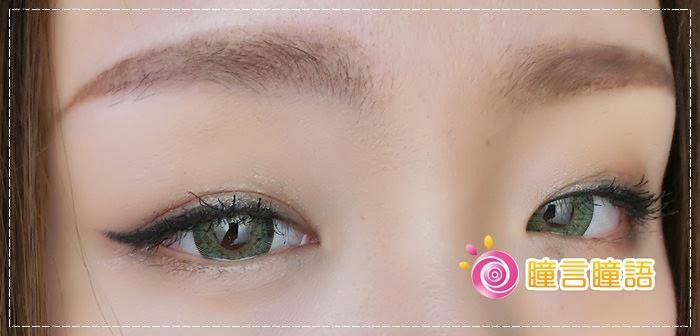 韓國GEO隱形眼鏡-GEO Sparkling 火花四色綠012