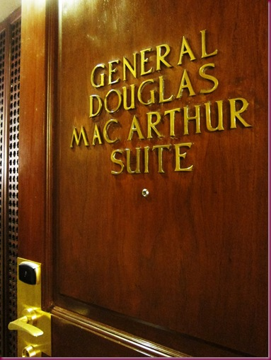 general douglas macarthur suite