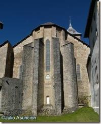 Ábside de la Iglesia e Santa María de Roncesvalles