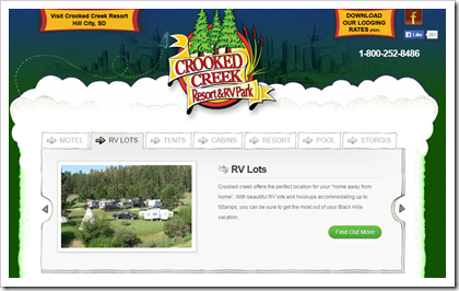 RVing with the Rakis - our plan for 2015 - how we plan to live campsite free for the next year.   Fourth stop Crooked Creek RV park