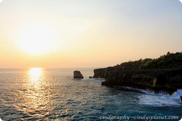 Blue Lagoon Sunset