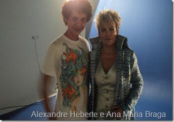 Alexandre Heberte e Ana Maria Braga