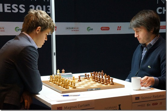 Carlsen vs Radjabov - Norway Chess 2013