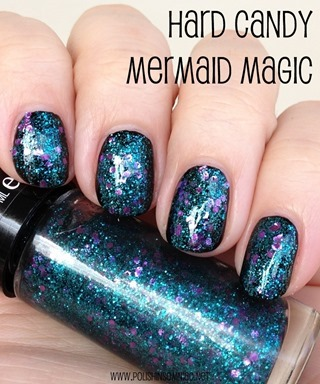 Hard Candy Mermaid Magic (over black creme)