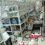 Eaton Centre in Toronto in Toronto, Ontario, Canada