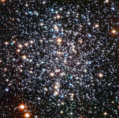 região central do aglomerado globular M4