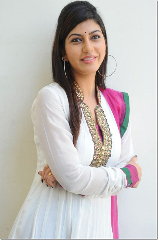 Sarah Sharma Cute Photos in White Salwar Kameez