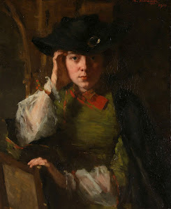 RIJKS: Thérèse Schwartze: Portrait of Lizzy Ansingh 1902