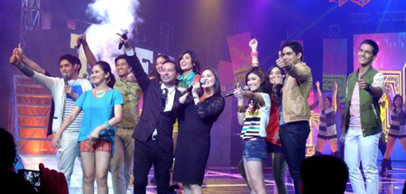 Teen Gen cast in Party Pilipinas