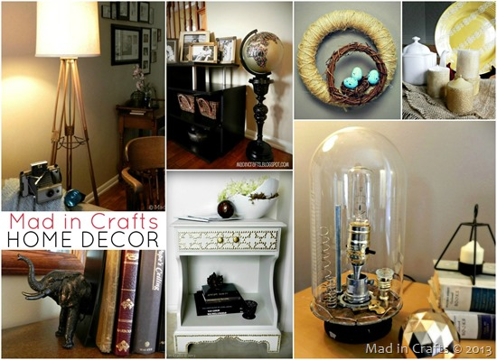 Mad in Crafts Home Decor Tutorials