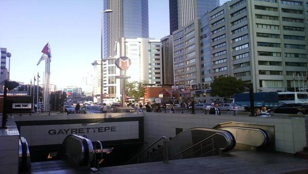 محطة مترو اسطنبول