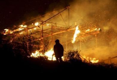 """Cinecittà: Κάηκε το ιστορικό """"Στούντιο 5"""""""