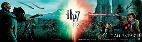 โปสเตอร์ 5 ภาพล่าสุดจาดภาพยนตร์ HARRY POTTER AND THE DEATHLY HALLOWS PART 2