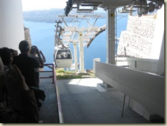Cable Car in Fira (Small)