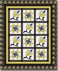 flower star mellow yellow