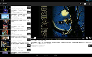 Screenshot of Iron Maiden fan
