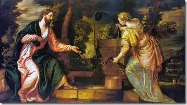 Christ and the Woman of Samaria by Paolo Veronese c. 1550