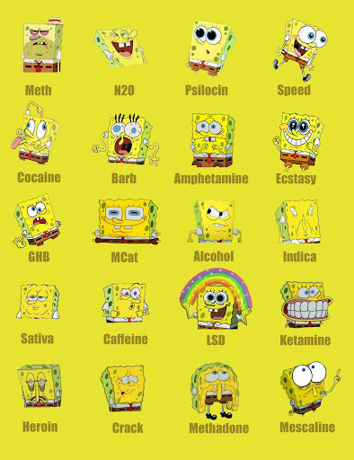 Different Spongebob Expressions | NuttyTimes