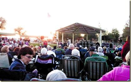 Concert at the park Phoenix 2-27-13