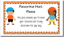 Favorite Hat Pass