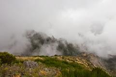 Madera - droga na Pico Ruivo