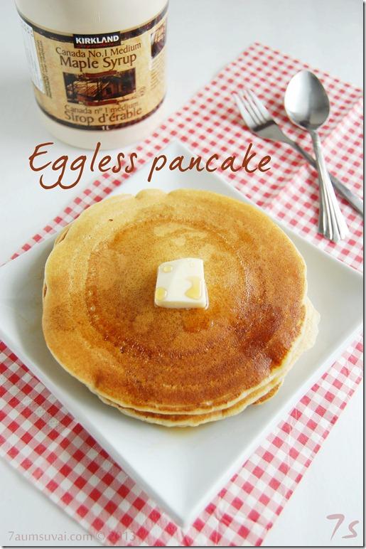 Eggless pancake
