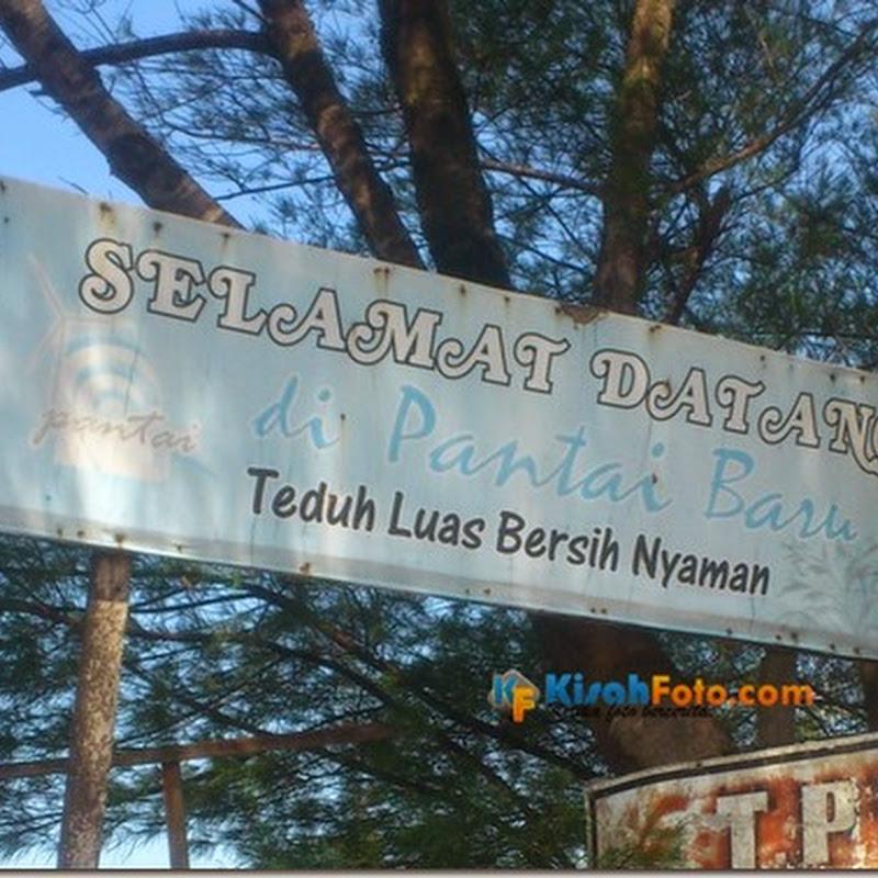 Mengunjungi Pantai Baru Bantul, Yogyakarta…
