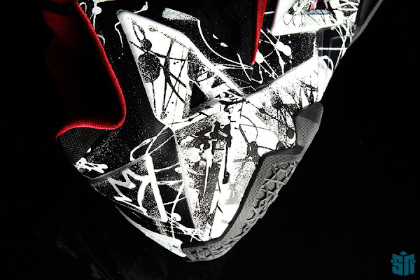 A Truly Beauty Look at Nike LeBron XI 11 8220Graffiti8221