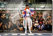 Lewis Hamilton campione del mondo 2014
