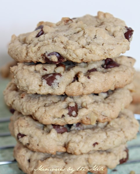 Bawdas Nutty Chocolate Chip Cookies