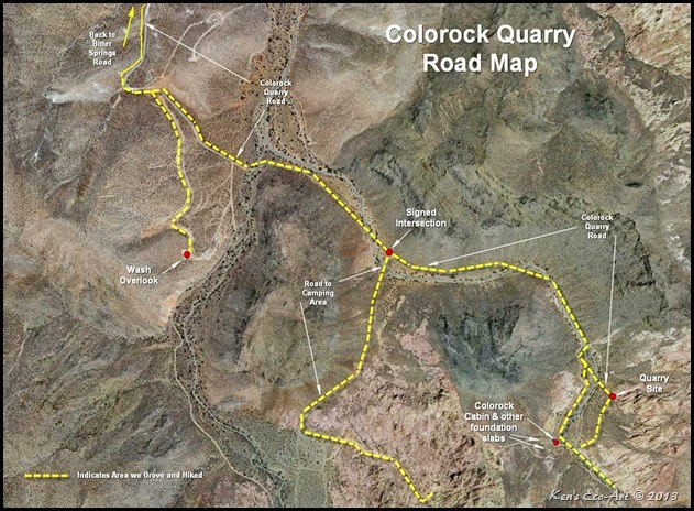 MAP - Colorock Quarry