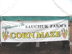 10.29.11 Cousins halloween Corn Maze banner